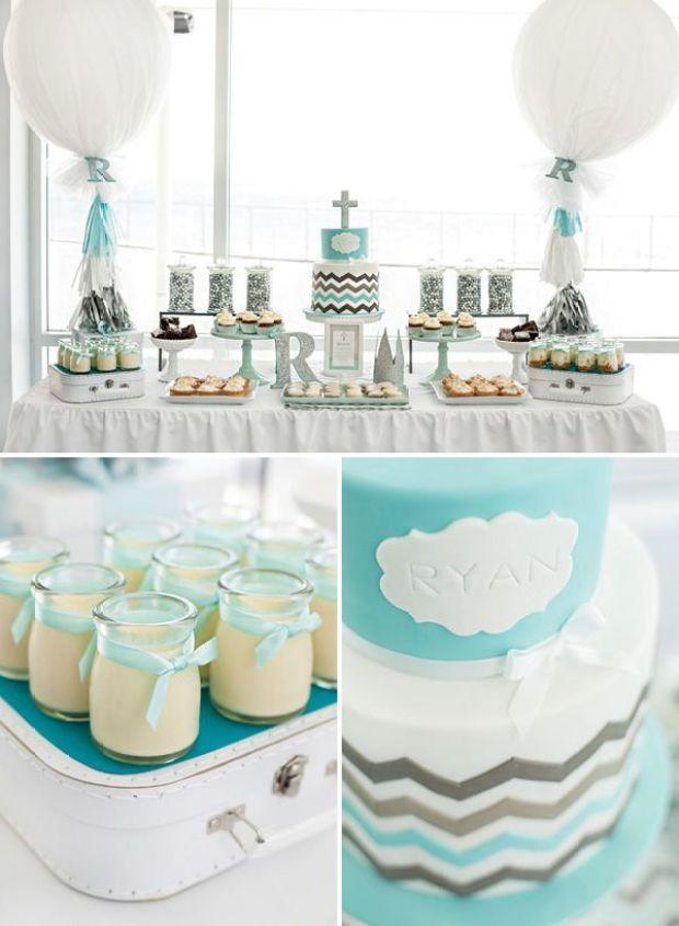chevron-christening-desserts
