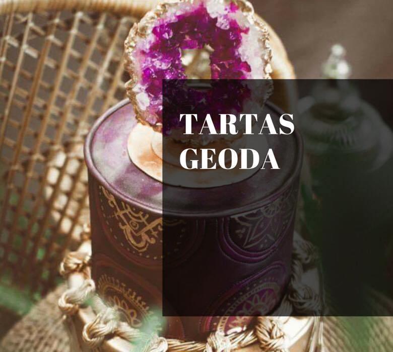 TENDENCIA: TARTAS GEODA, MINERALES COMESTIBLES