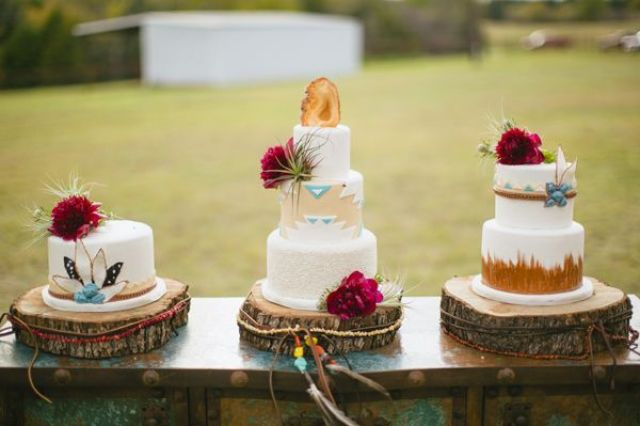 southern-wedding-southwest-cakes