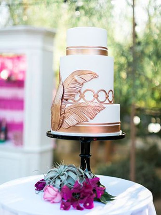 Ace-Hotel-Palm-Springs-3-Tier-Wedding-Cake-with-Gold-and-Copper-Leaf-Decor (1).jpg