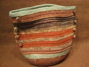 Luz Angela Crawford - Turquoise Bag