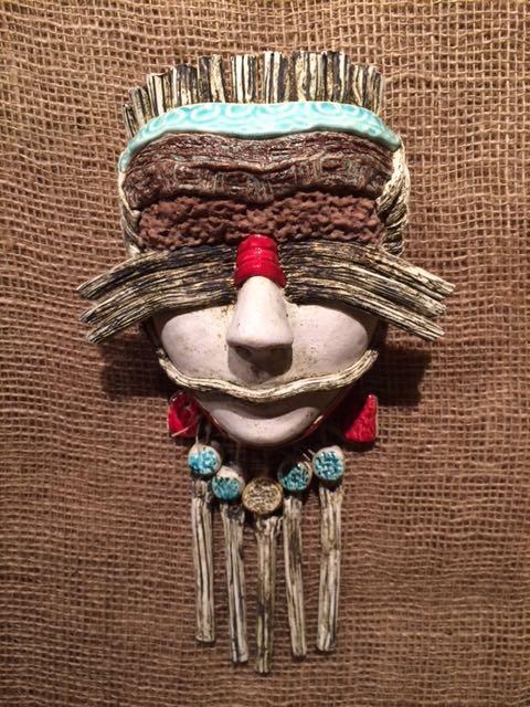 Luz Angela Crawford - Clay Masks