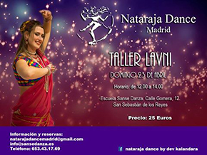 Taller Lavni. Domingo 23 de Abril