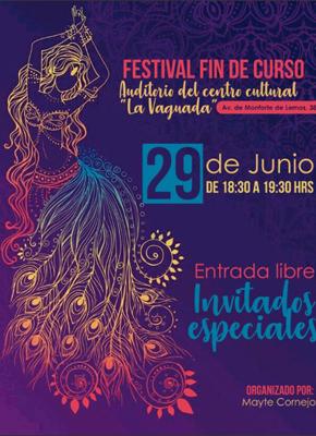 """Festival Fin de Curso Auditorio del Centro Cultural """"La Vaguada"""""""