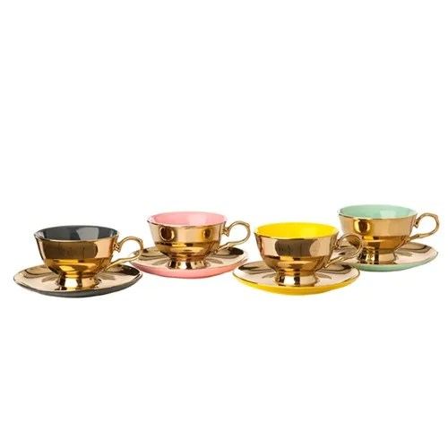 SET TEA LEGACY GOLD 4