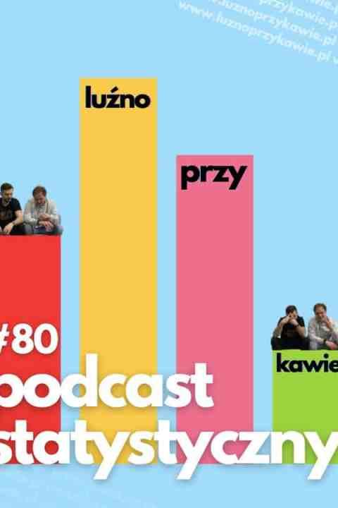 #80 – Podcast statystyczny.