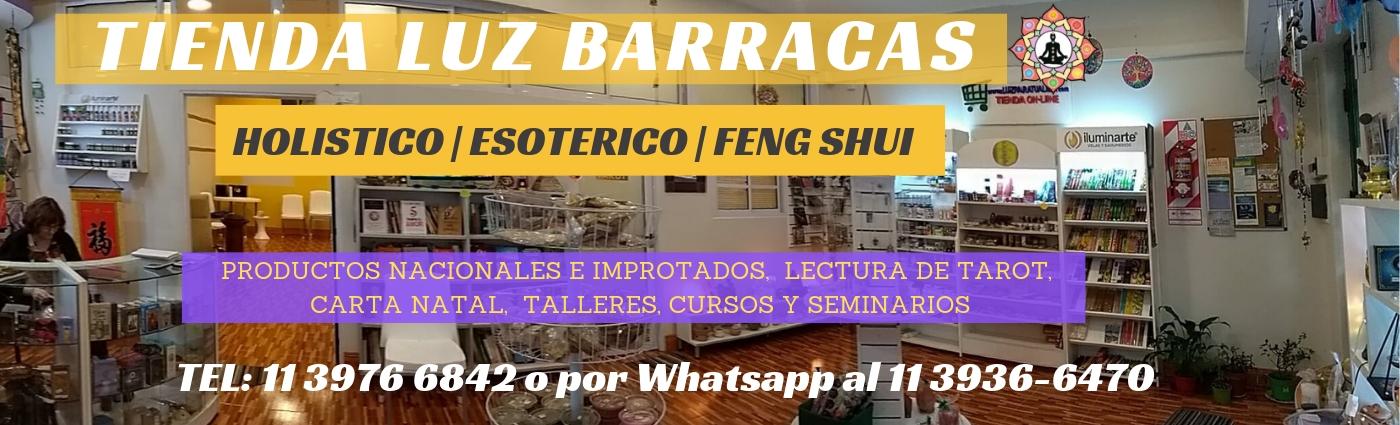 TIENDA LUZ BARRACAS tienda holistica feng shui santeria esoterico