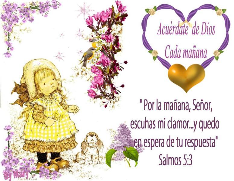 Palabritas para Tí... Promesas de Dios para Hoy (3/6)