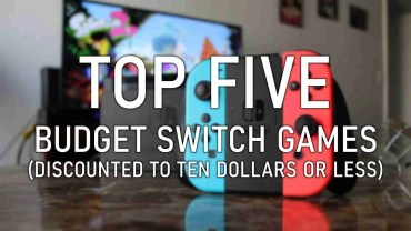 five budget Switch games