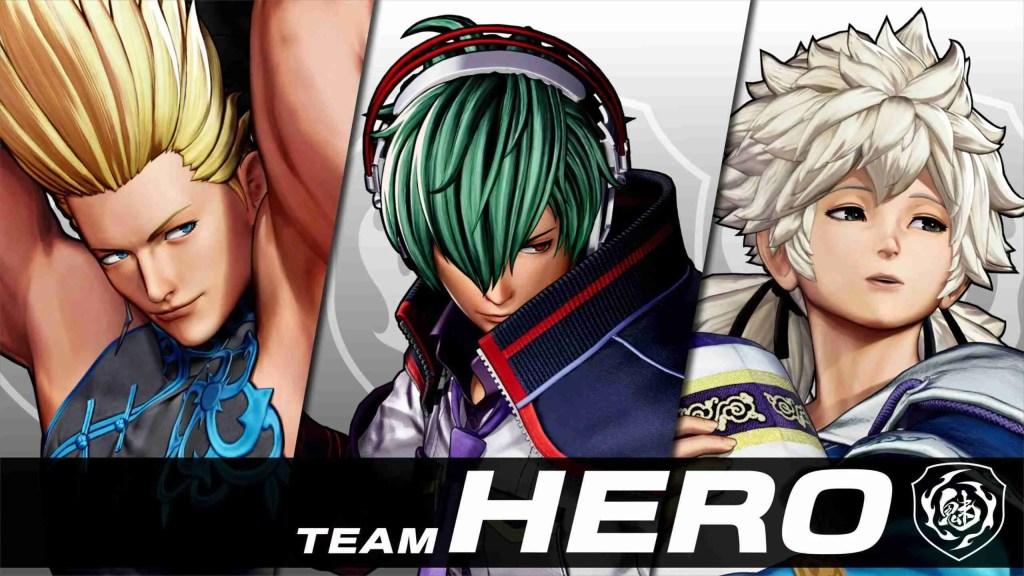 Team Hero king of fighters xv