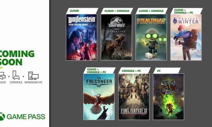February 2021 Xbox Game Pass