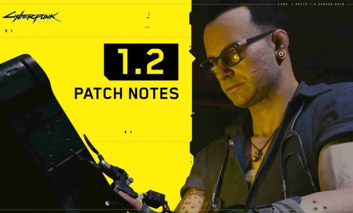 Cyberpunk 2077 1.2 Patch Notes
