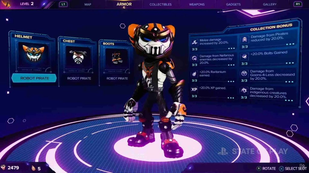 Ratchet and Clank Armor