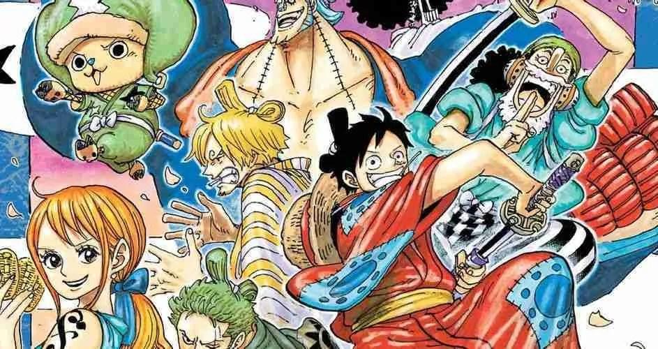 One Piece Manga Art