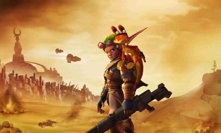 Naughty Dog Jak & Daxter