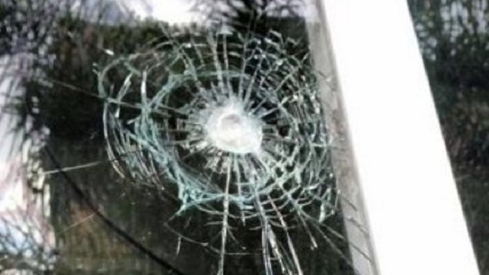 Impacto en una de la ventanas