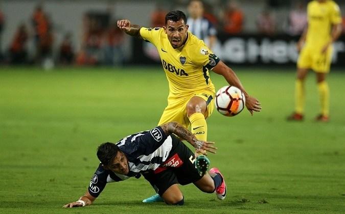 Boca debutó en la Libertadores con un empate