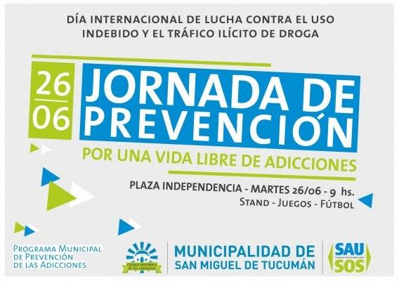 La Municipalidad desarrolla unas jornadas de prevención de adicciones