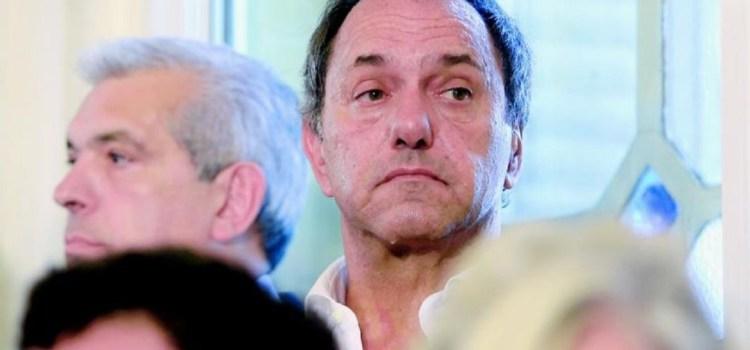 Piden que Scioli vaya a juicio por tráfico de influencias y negociaciones incompatibles