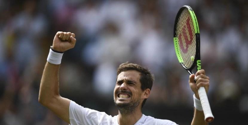 Pella venció a Milos Raonic y se clasificó a cuartos de final de Wimbledon