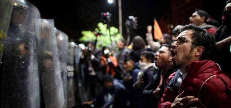 Manifestaciones a favor y en contra de Evo Morales y enfrentamientos en Santa Cruz