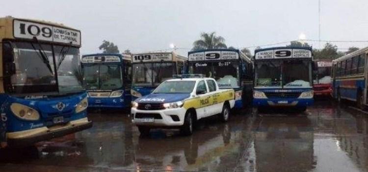 Un atentado contra la empresa de la línea 9 y 109 determinó un paro en los servicios