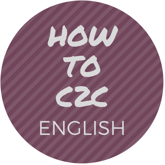 How to C2C english