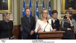 Luce Bélanger, présidente de l'UPA de Québec-Jacques-Cartier