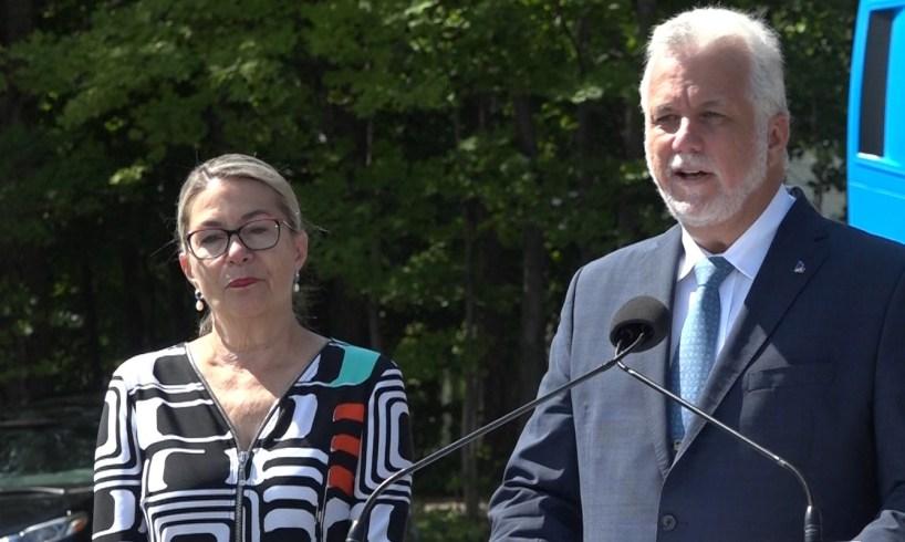 Suzanne Pilote & Philippe Couillard