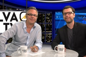 Yannick Patelli & Alex Tyrrell, chef du Parti vert du Québec