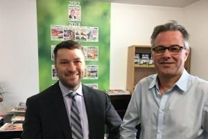 Jean Nobert, avocat, et Yannick Patelli, éditeur