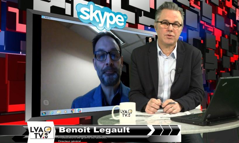 Benoit Legault et Yannick Patelli