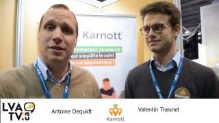 Antoine Dequidt etValentin Traisnel de Karnott.