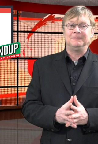 Eric Bernard présente les dernières nouvelles agricoles au Québec.