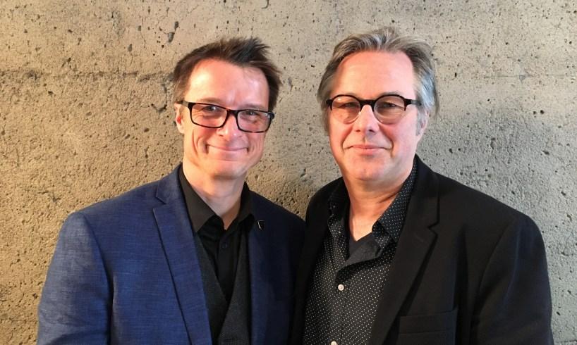 Sylvain Charlebois et Yannick Patelli
