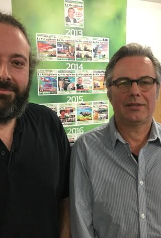 Dominic Lamontagne et Yannick Patelli