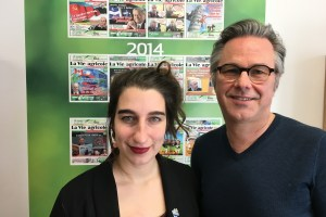 Emilise Lessard-Therrien et Yannick Patelli