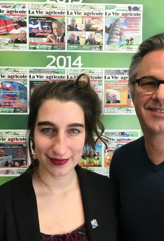 Emilise Lessard-Therrien et Yannick Patelli