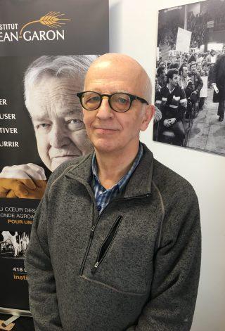 Simon Bégin, président de l'Institut Jean-Garon