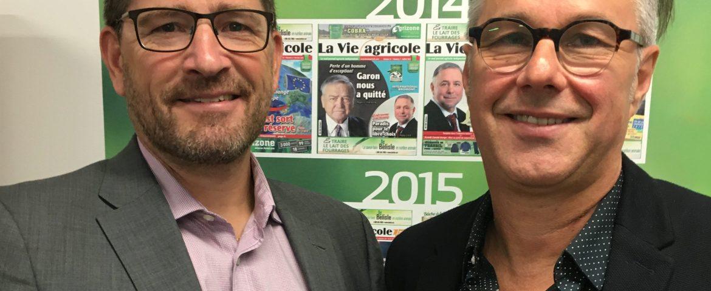 Pierre Petelle et Yannick patelli