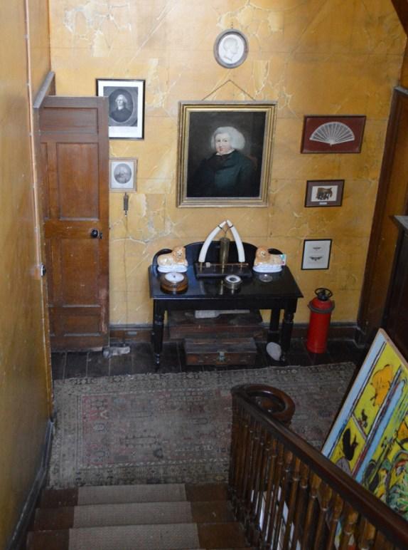Shankill Castle Staircase Hall © lvbmag.com Stuart Blakley