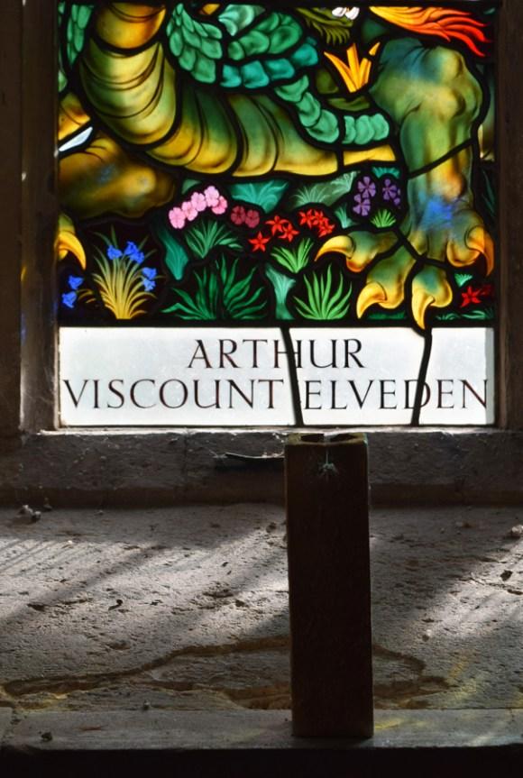 The Elveden Estate Stained Glass © Lavender's Blue Stuart Blakley