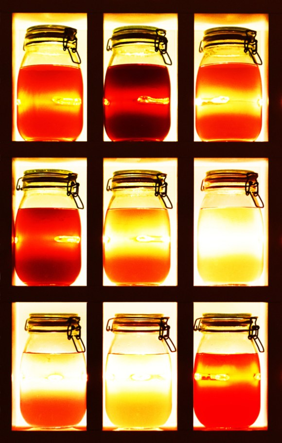 Exhibitionist Hotel Abstract Bar © Lavender's Blue Stuart Blakley