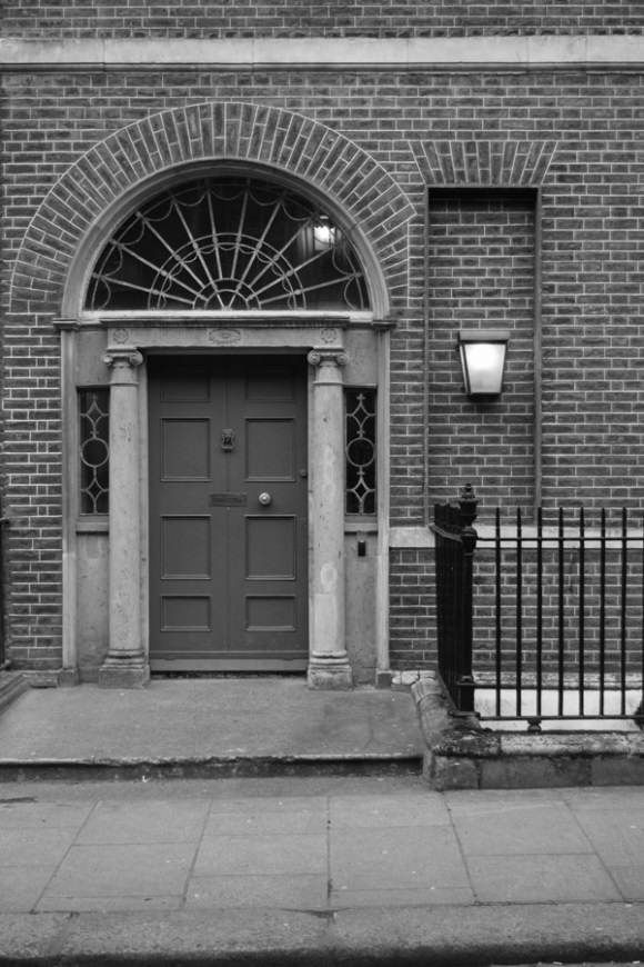 Henrietta Street Doorcase Dublin © Lavender's Blue Stuart Blakley
