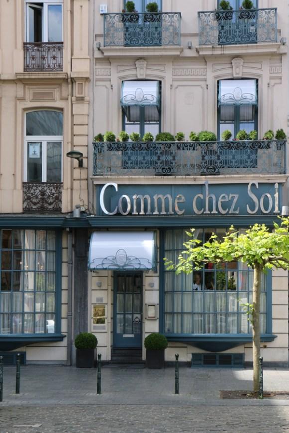 Comme Chez Soi Brussels © Lavender's Blue Stuart Blakley