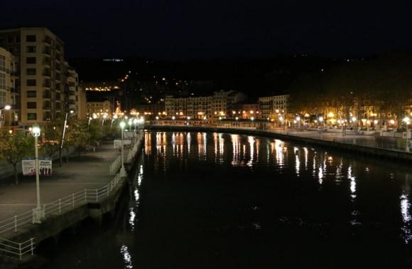 Bilbao Udaletxeko Zubia By Night © Lavender's Blue Stuart Blakley