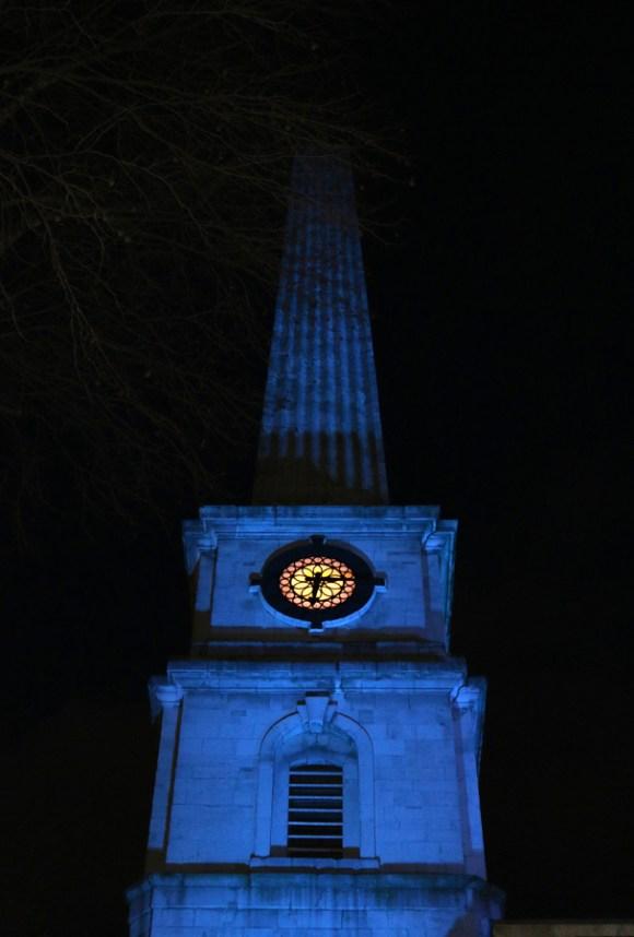 St Luke's Church Clerkenwell @ Lavender's Blue Stuart Blakley