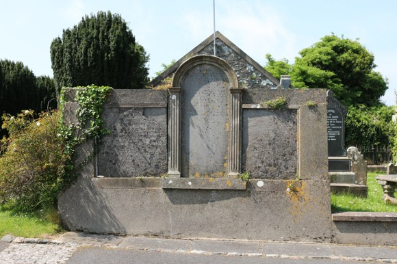 St Patrick's Church Saul Tombstone © Lavender's Blue Stuart Blakley