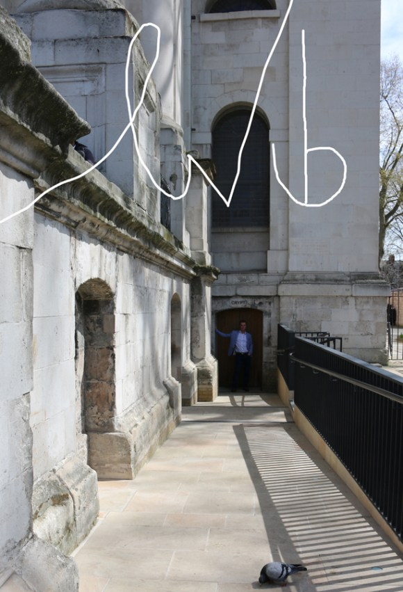Christ Church Spitalfields Crypt Entrance © Lavender's Blue Stuart Blakley