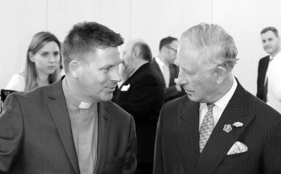 Rev Andy Rider & Prince Charles © Lavender's Blue Stuart Blakley